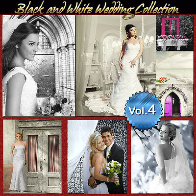 Digital Backgrounds Photography Backdrops Green Screen BLACK AND WHITE WEDDING 4