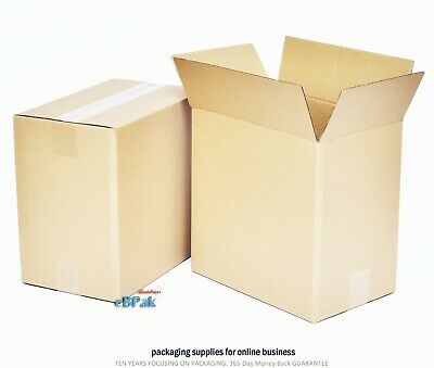20 NEW Mailing Box 310x210x300mm - Cardboard Postal Regular Slotted Carton