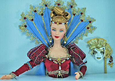 """""""Venetian Opulence"""" Barbie Doll of the Masquerade Gala Collection-NRFB"""