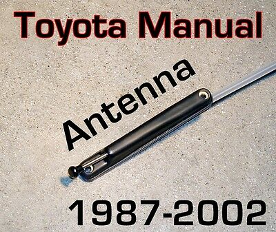 Toyota Manual PILLAR AM / FM ANTENNA Direct Fit Brand New  COROLLA