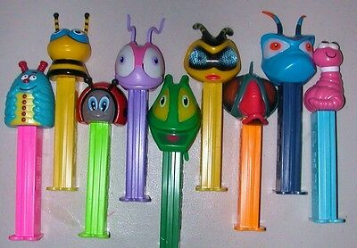 *  BUGZ SET  *  ALL 9 BUG PEZ  *