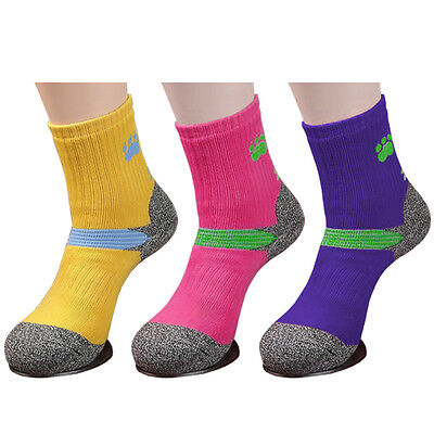 3 Pairs Womens Double Cushioned Camping Trekking Hiking Socks COOL-TEX Fabric