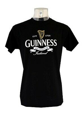 Guinness Perfection Black T-Shirt Clothing T Shirt Various Sizes Available New
