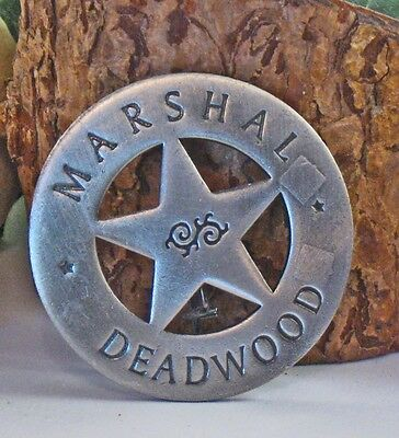 "Historic Badges ""Marshal of Deadwood"""