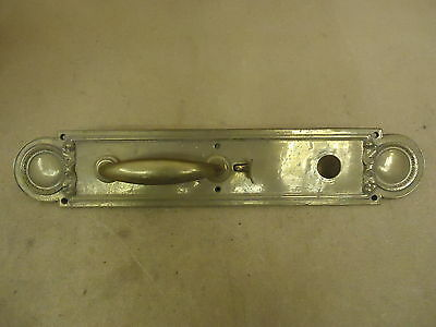 Handcrafted Door Pull Push Plate 89780 Vintage Solid Brass