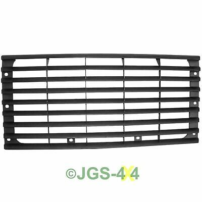 Land Rover Defender Front Grill Black (Smooth) Fits All Defenders