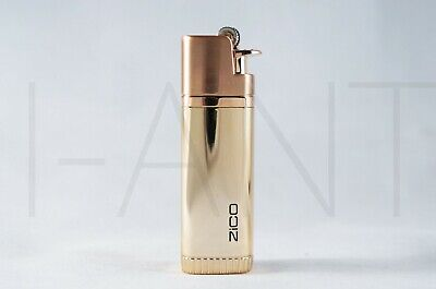 Zico Refillable Double Torch Lighter With Easy Removable Replaceable Flint