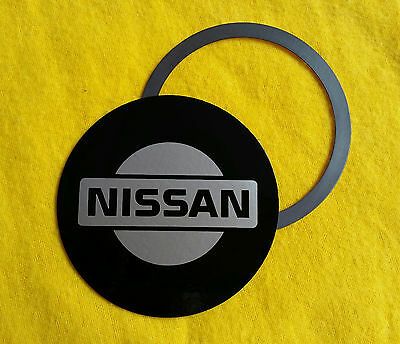 Magnetic Tax Disc Holder fits nissan silver logo