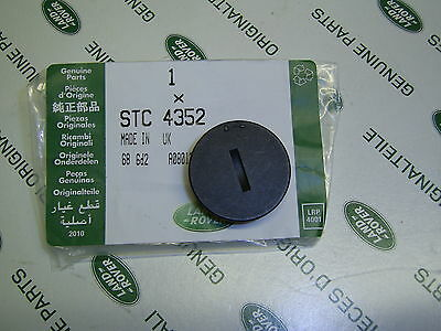 Range Rover P38 Remote Key Fob Battery Cover Genuine Land Rover Stc4352
