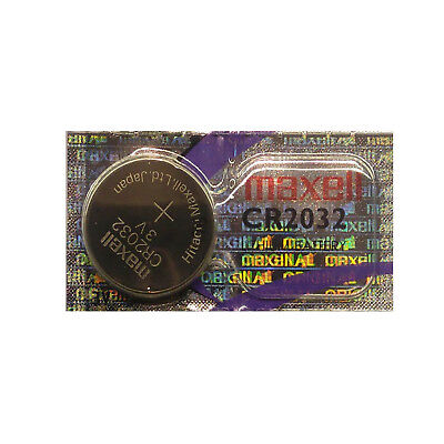 5 Maxell CR2032 Batteries Lithium Battery 3V Button/Coin Cell CR 2032
