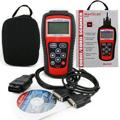 AUTEL MaxiScan MS509 VOITURE SCANNER VALISE DIAGNOSTIQUE OBD OBD2 / Multimarque