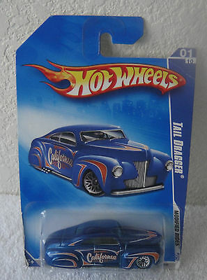 2009 Modified Rides Series Tail Dragger Hot Wheels #1/10 Cars
