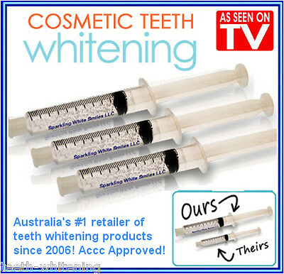 TEETH / TOOTH WHITENING GEL - 1x18% CARBAMIDE PEROXIDE - STRONGEST IN AUSTRALIA!