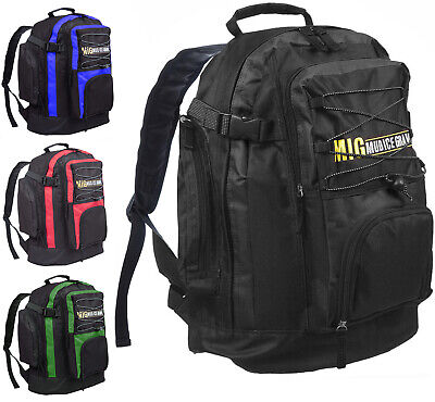 Mens & Boys Large Backpack Rucksack Bag SPORT CAMPING TRAVEL HIKING WORK SCHOOL
