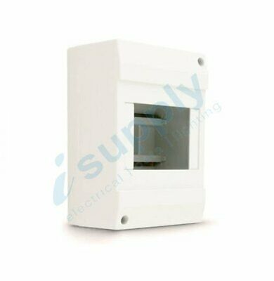3 – 4 POLE Enclosure Box Surface Board Switchboard Din Rail Circuit Breaker MCB