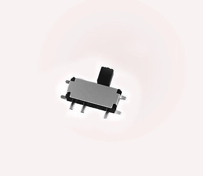50pcs 2.7 x 6.7mm Micro Slide Switch Toggle Switch SMD On/Off 7 Pin 2.5mm handle