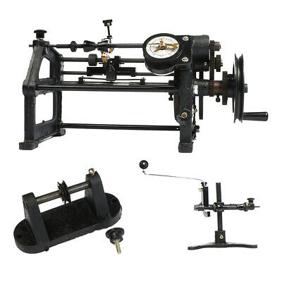 U.S. Solid Coil Winder Manual Automatic Coil Winding Machine Hand NZ-2 US Stock