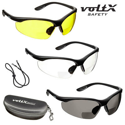 voltX CONSTRUCTOR BIFOCAL Safety Reading Glasses (Clear,Yellow,Smoke & Mirror)