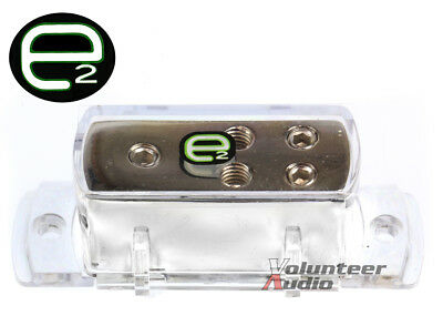 Scosche E2 Edb 4 Ga To 8 Ga Ground Distribution Block Platinum Plated