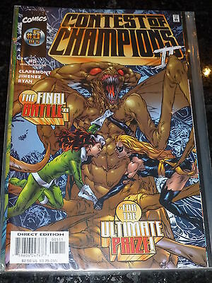 CONTEST OF CHAMPIONS 2 Comic - Vol 1 - No 5 - Date 11/1999 - Marvel Comic's