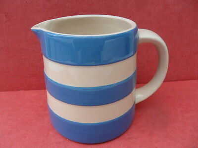 TG Green, Cornishware Blue, Dreadnought Jug (A) (New) REDUCED !