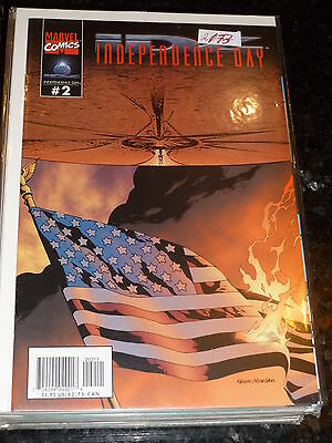 INDEPENDENCE DAY - Vol 1 - No 2 - Date 08/1996 - Marvel Comics