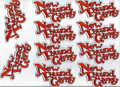 New Found Glory Embroidered Iron On Patch Bulk Lot Of 10 Patches Brand New!
