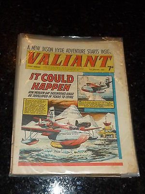 VALIANT Comic - Date 07/01/1967 - UK Fleetway Paper Comic
