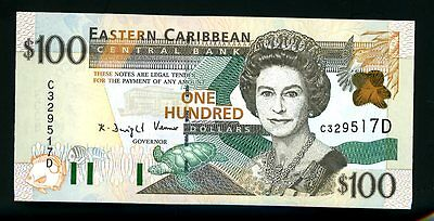 East Caribbean States ... P-36d ... 100 Dollars ... ND(1998) ... *UNC*