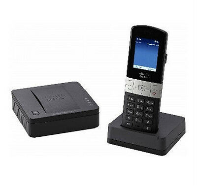 Cisco SPA302DKIT-G1 SIP VoIP DECT Mobility Enhanced Handset SPA302 SPA232 Combo
