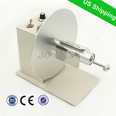 Automatic Label Rewinder Tags Rewinding Machine Two Direction Speed Adjustment