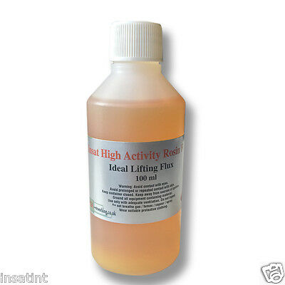 ROSIN HIGH ACTIVITY LIQUID FLUX FOR LIFTING CHIPS  100mL