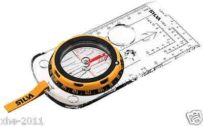 Silva Sweden Expedition Compass 4 Sighting Hiking Camping 35691-0005 Night Use