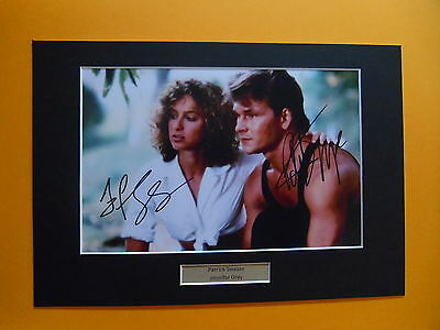 Patrick Swayze jennifer Grey Dirty Dancing signed autograph photo