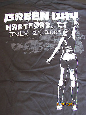 GREEN DAY  2009 Tour Shirt(OFFICIAL)  21st Century BreakdownTour  NEW  Hartford