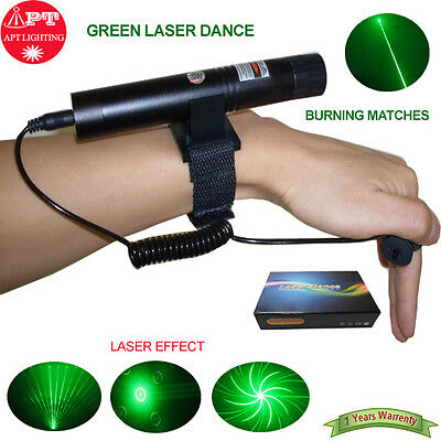 532nm green portable hand-held laser / stage show / laser dance / Multi-function