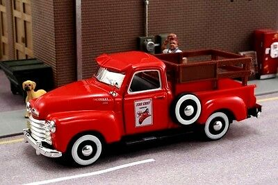 New In Box 1/43 Gearbox  Diecast  O Scale 1950 Chevrolet Texaco Stake Truck