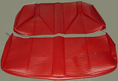 1966 Buick Skylark/gs/special Convertible Rear Seat Covers  5 Colors Available