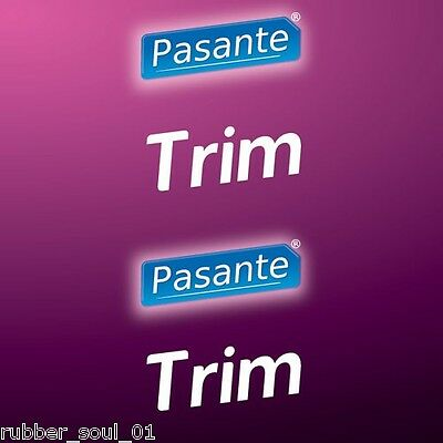 Pasante Trim Condoms - Available in 6, 12, 24, 36, 48 or 100 packs