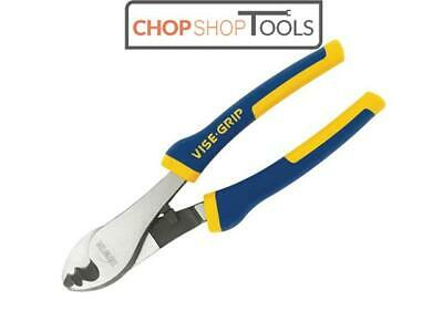 """IRWIN 200mm/8"""" Vise-Grip Cable/Wire Cutter Shear Plier,Cuts Up To 5.0mm 10505518"""