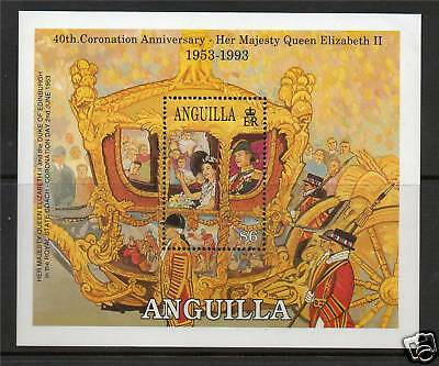Anguilla 1993 Anniv. Of Coronation MS SG 921 MNH