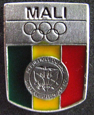 2012 LONDON Olympic MALI  NOC Internal team - delegation new design pin