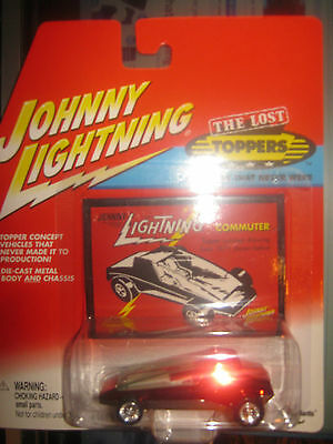 COMMUTER RED THE LOST TOPPERS  1/64 JOHNNY LIGHTNING JL Q