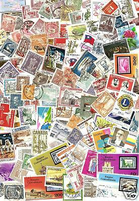 Worldwide Lot of @ Least 500 Stamps Minimum Duplication $7.50 FreeS&H $100+Value