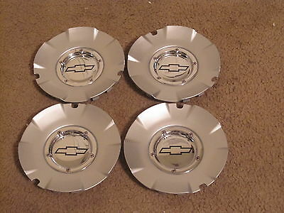 Chevy Silverado 1500 wheel center caps hubcaps 5243A SET OF 4 GREAT CONDITION