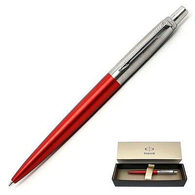 Parker Jotter 125th Anniversary Ballpoint Pen, Metallic Red