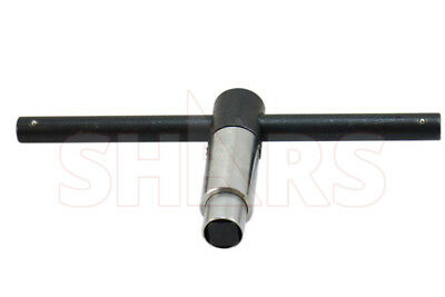 """SHARS 1/2"""" Self-Ejecting Key for 12"""" Lathe Chuck NEW"""