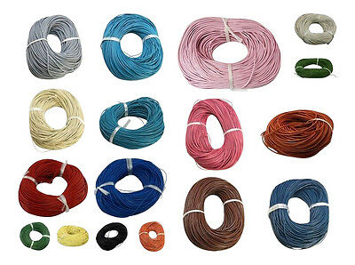 """""""BUY ONE GET ONE FREE""""  3 Mtrs. Genuine Leather Round Cord - lady-muck1"""