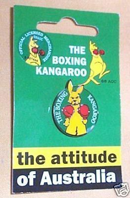 #D3.  Boxing Kangaroo Badge