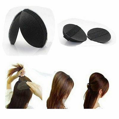 2pcs Different Size Volume Hair Base Velcro Bump Styling Insert Tool